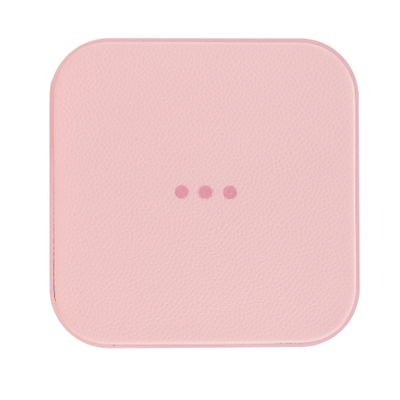 Courant Chargeur sans fil pour cellulaire - Rose