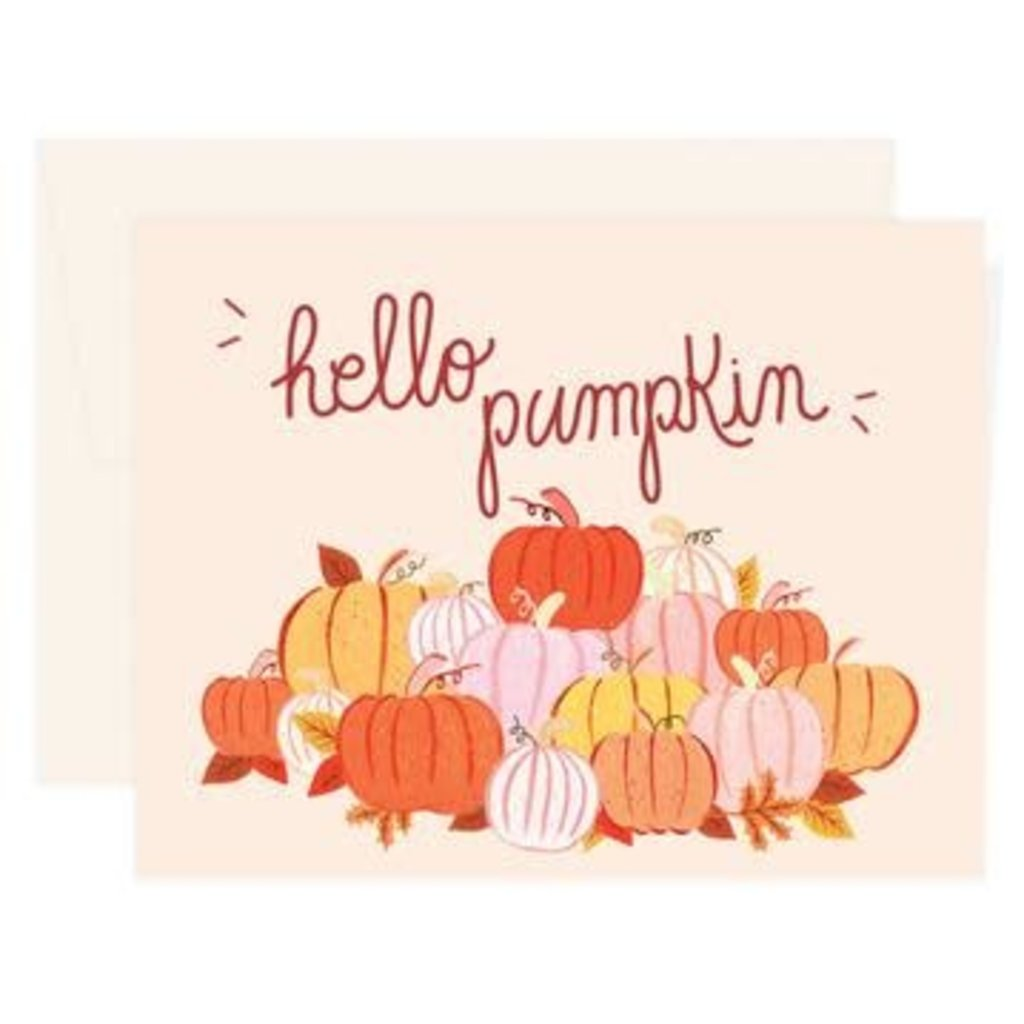 Paige & Willow Carte - Hello pumpkin