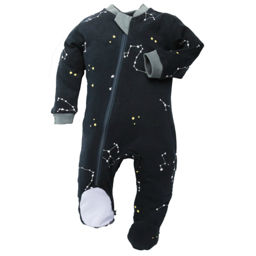 ZippyJamz Pyjama - Galaxy Love Navy