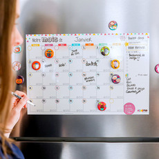Minimo Calendrier Mensuel - Notre mois ensemble