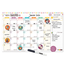 Minimo Calendrier Mensuel - Notre mois ensemble horizontal
