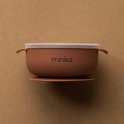 Minika Bol en silicone - Cacao