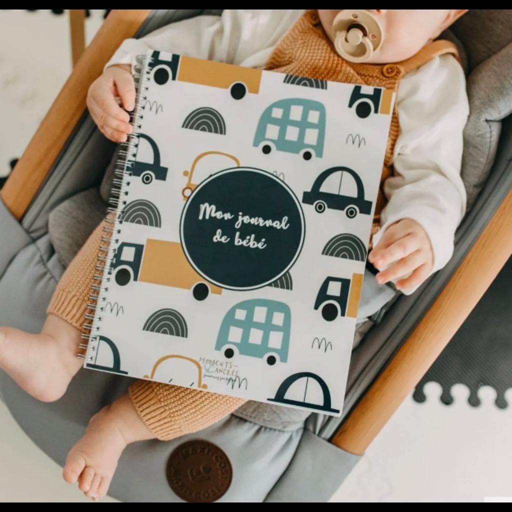 Moments ancrés Mon journal de bébé - Voitures