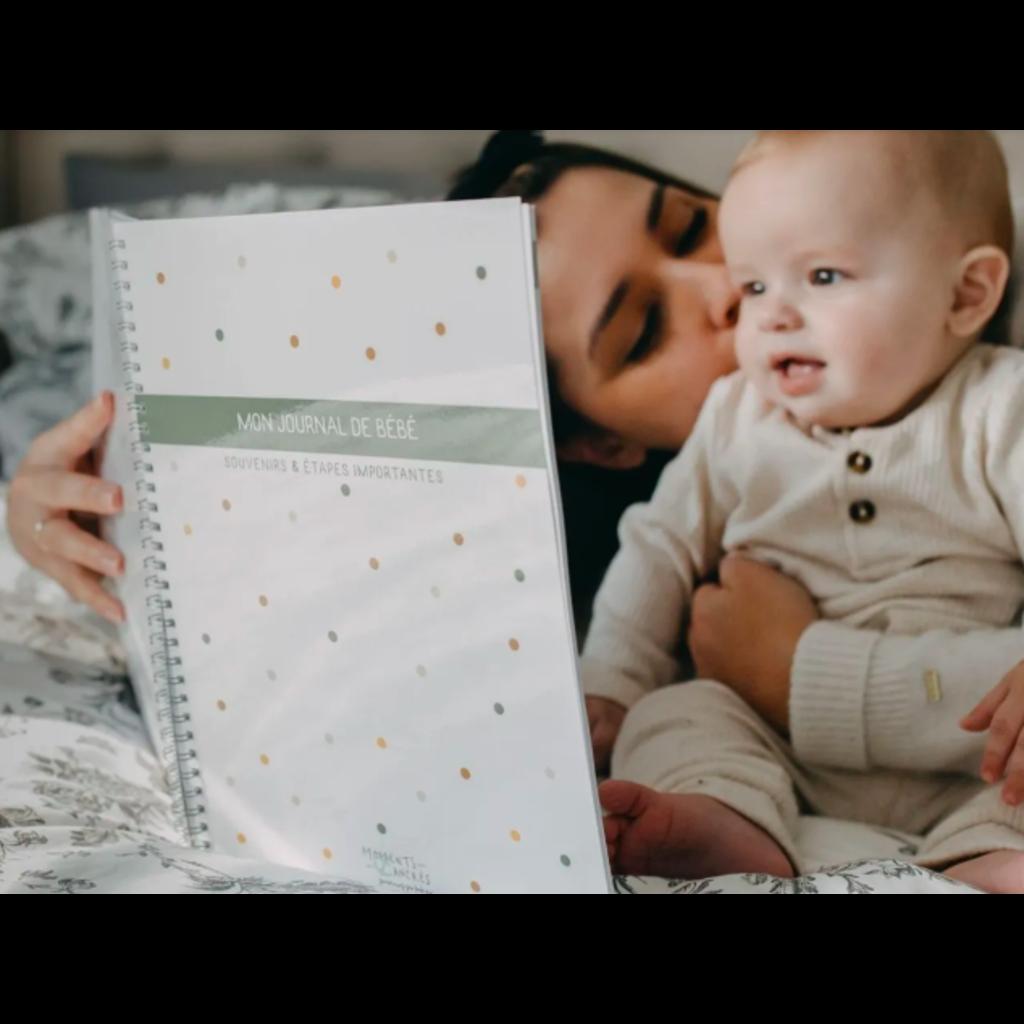 Moments ancrés Mon journal de bébé - Bohème