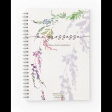 Moments ancrés Mon journal de grossesse - Jardin lilas