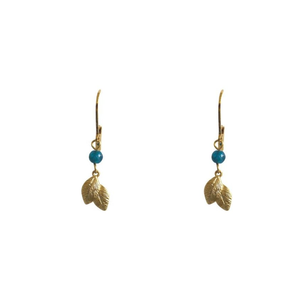 Lost & Faune Boucles d'oreilles - Tombée de feuilles