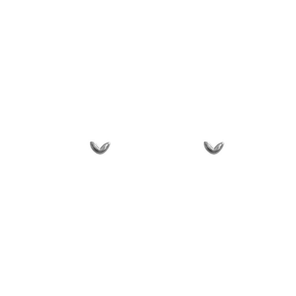 Lost & Faune Boucles d'oreilles - Mini samares argent