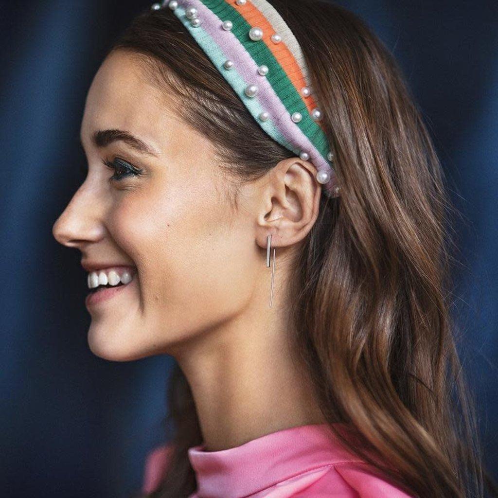 Lost & Faune Boucles d'oreilles - Fils et pendentifs géométriques