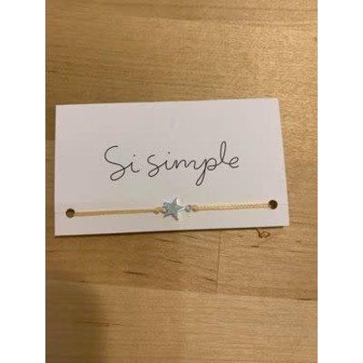 Si Simple Bracelet - Étoile