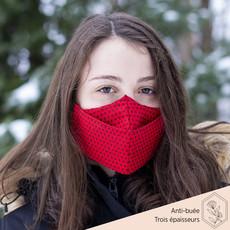 Maskalulu Masque anti-buée trois épaisseurs - Ma coccinelle