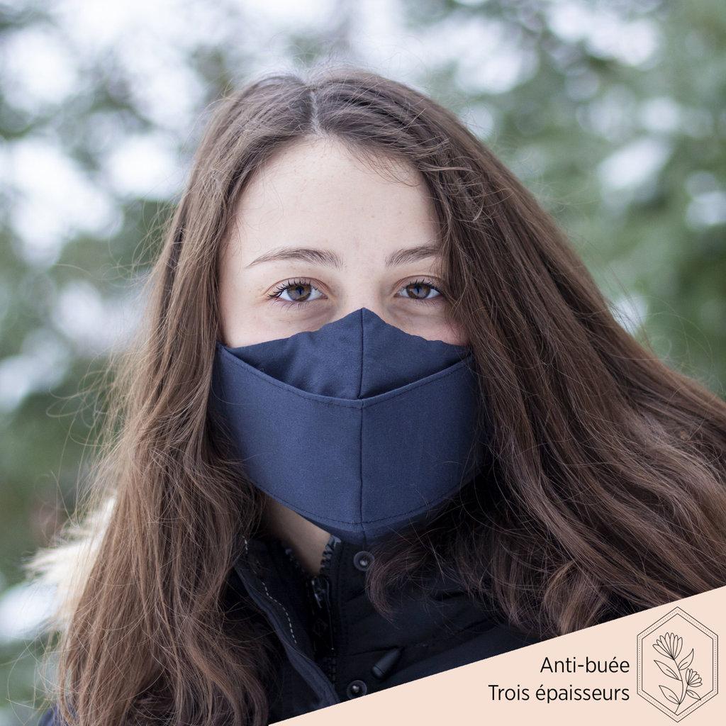 Maskalulu Masque anti-buée trois épaisseurs - Le marin