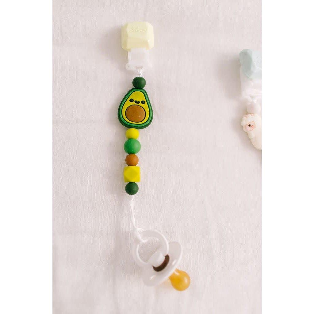 Loulou lollipop Attache à suce Darling - Avocado