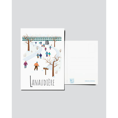 M.O. Graphiste Carte postale - Lanaudière