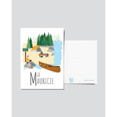 M.O. Graphiste Carte postale - Mauricie
