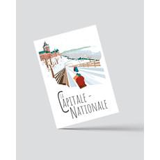 M.O. Graphiste Carte postale - La Capitale-Nationale