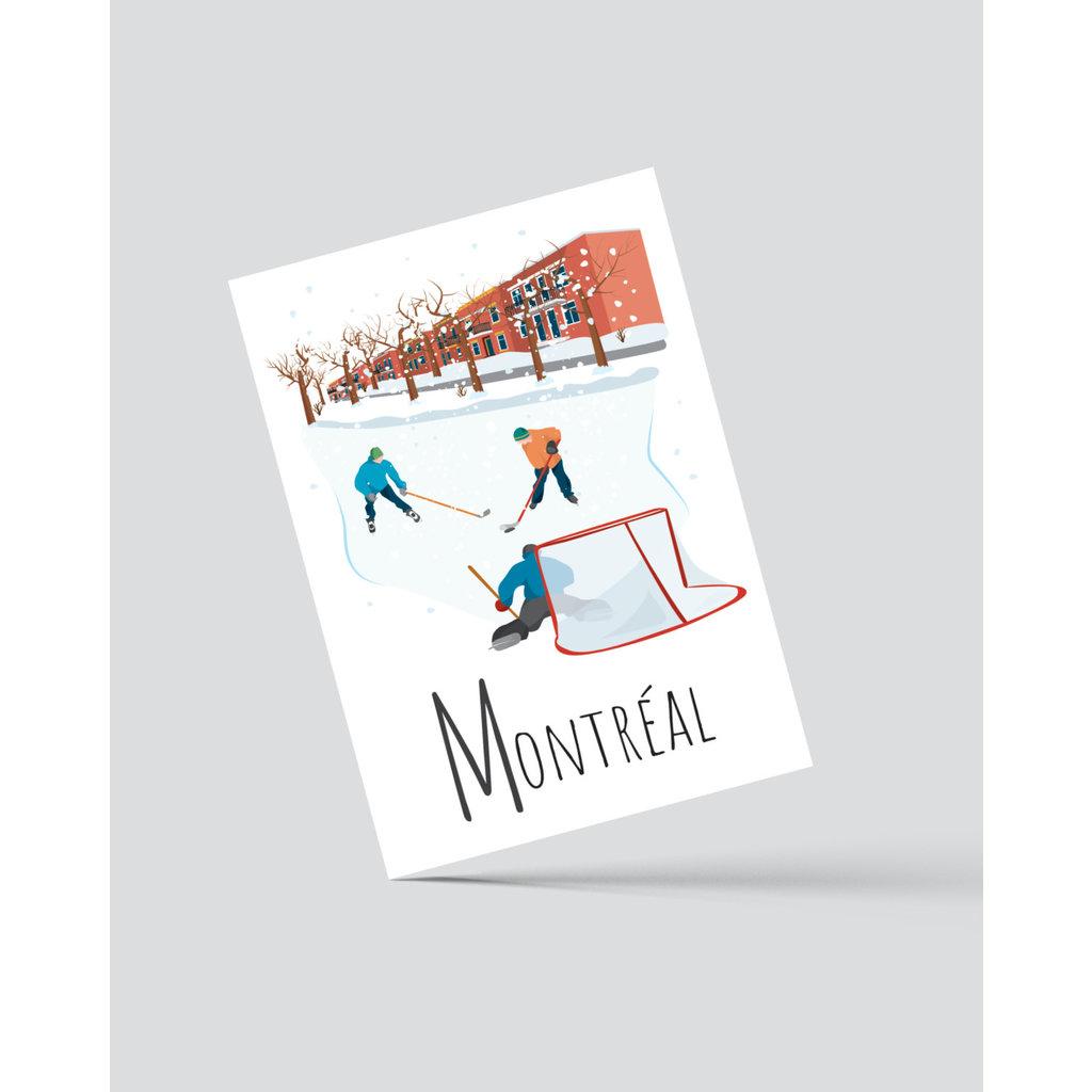 M.O. Graphiste Carte postale – Montréal