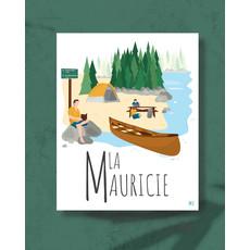 M.O. Graphiste Affiche – La Mauricie