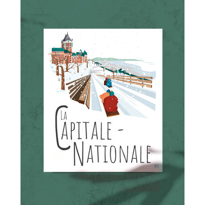 M.O. Graphiste Affiche – La Capitale Nationale