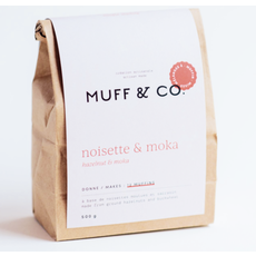 Muff & co Muffin - Moka & Noisette