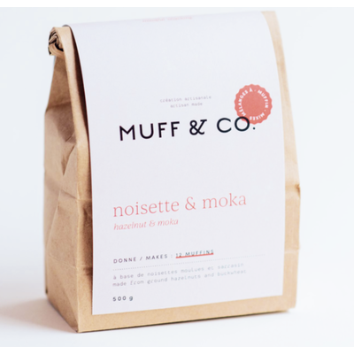 Muff & co Muffin - Moka & Noisette