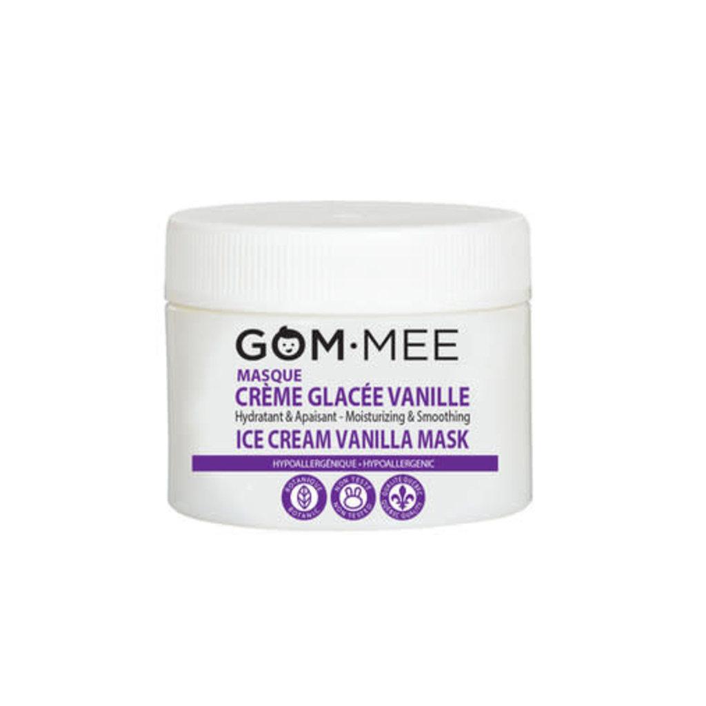 GOM·MEE Masque crème glacée vanille - Hydratant & Apaisant