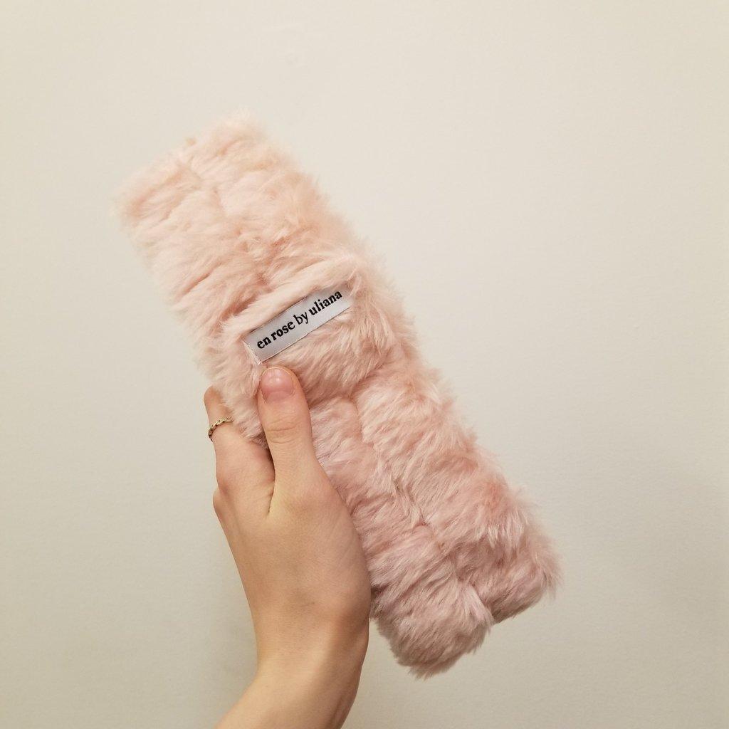 Enrose.bytu Bandeau - Fluffy pink