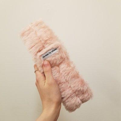 Enrose by Uliana Bandeau - Fluffy pink
