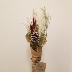 Vert Bohème Bouquet des fêtes rouge