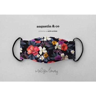 Augustin & Co. Masque - Série Artiste - Mélissa Lowry - Botanique