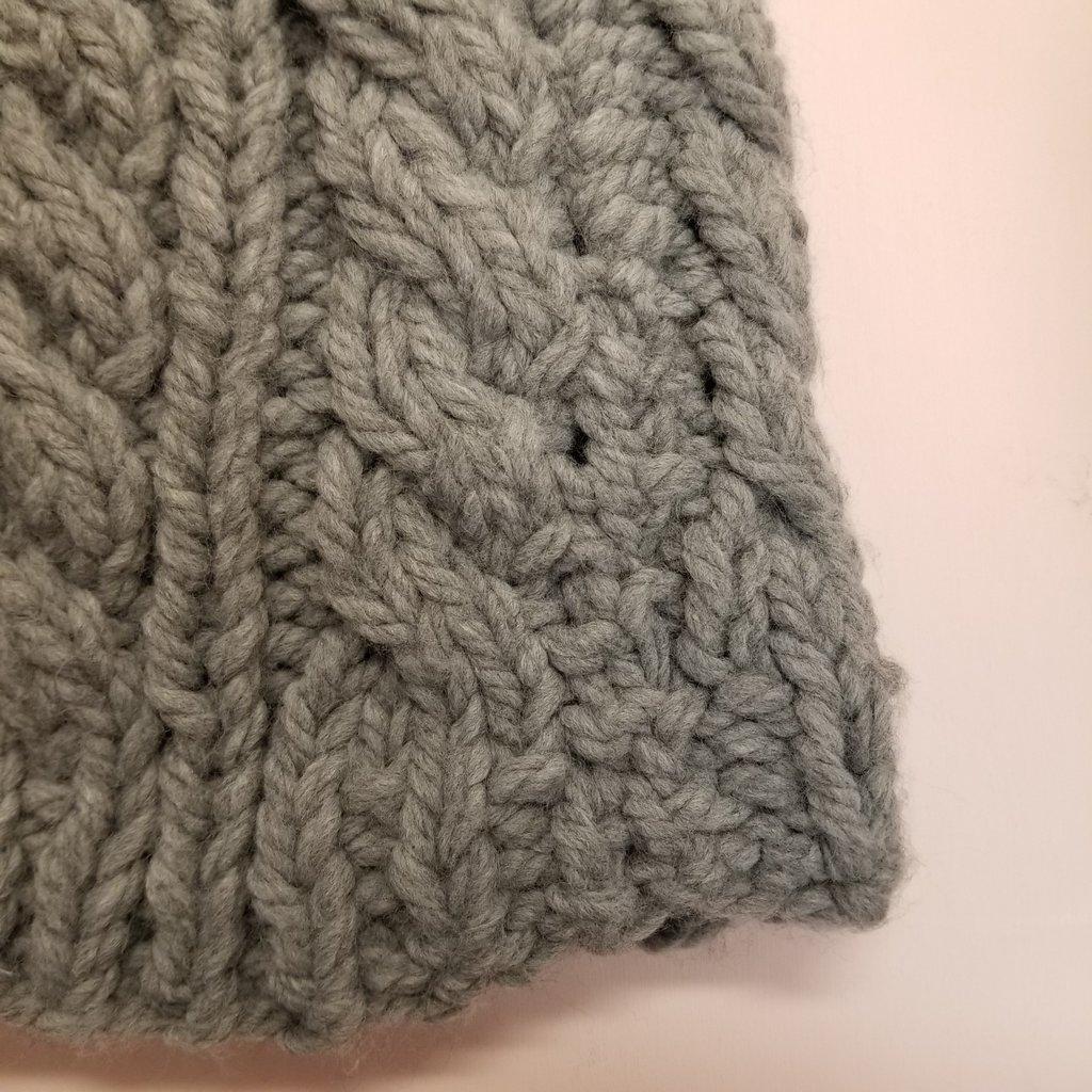 Inédit du Nord Tuque - Tricot gris