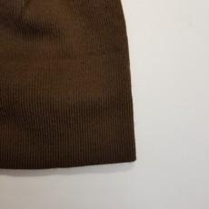 Inédit du Nord Tuque brune avec pompon