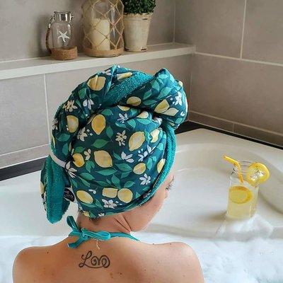 Coco Caribou Serviette pour cheveux - Citrus Vibe