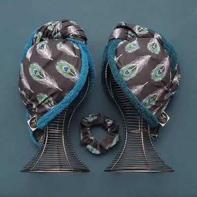 Coco Caribou Serviette pour cheveux - Paons