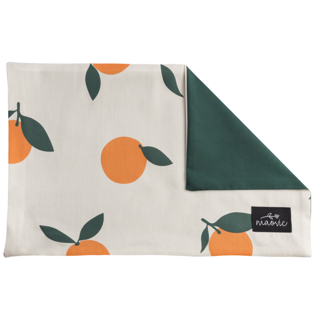 Maovic Housse oreiller - Mandarine