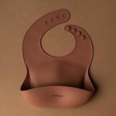 Minika Bavette de silicone ajustable
