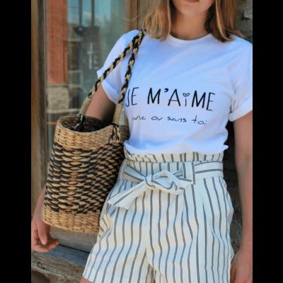 Callitee T-Shirt - Je m'aime avec ou sans toi