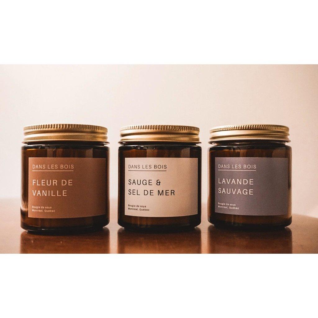 Dans les Bois Chandelle - Fleur de vanille (4oz)