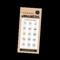 Les Belles Combines Les Magnétos Mes bonnes habitudes - Les étapes de ma journée
