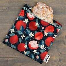 DemainDemain Trio de sacs réutilisables - Pomme grenade