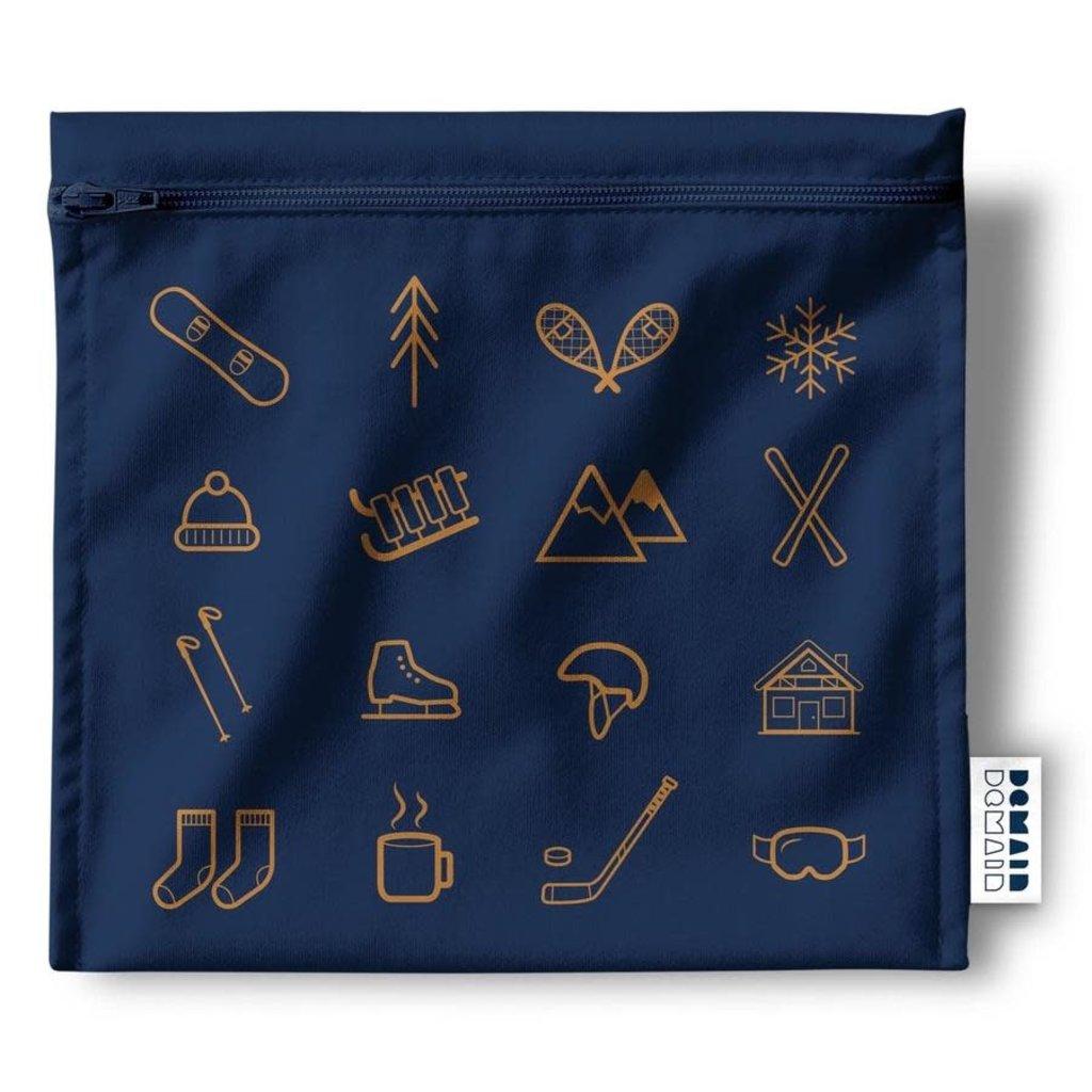 DemainDemain Trio de sacs réutilisables - Sports d'Hiver