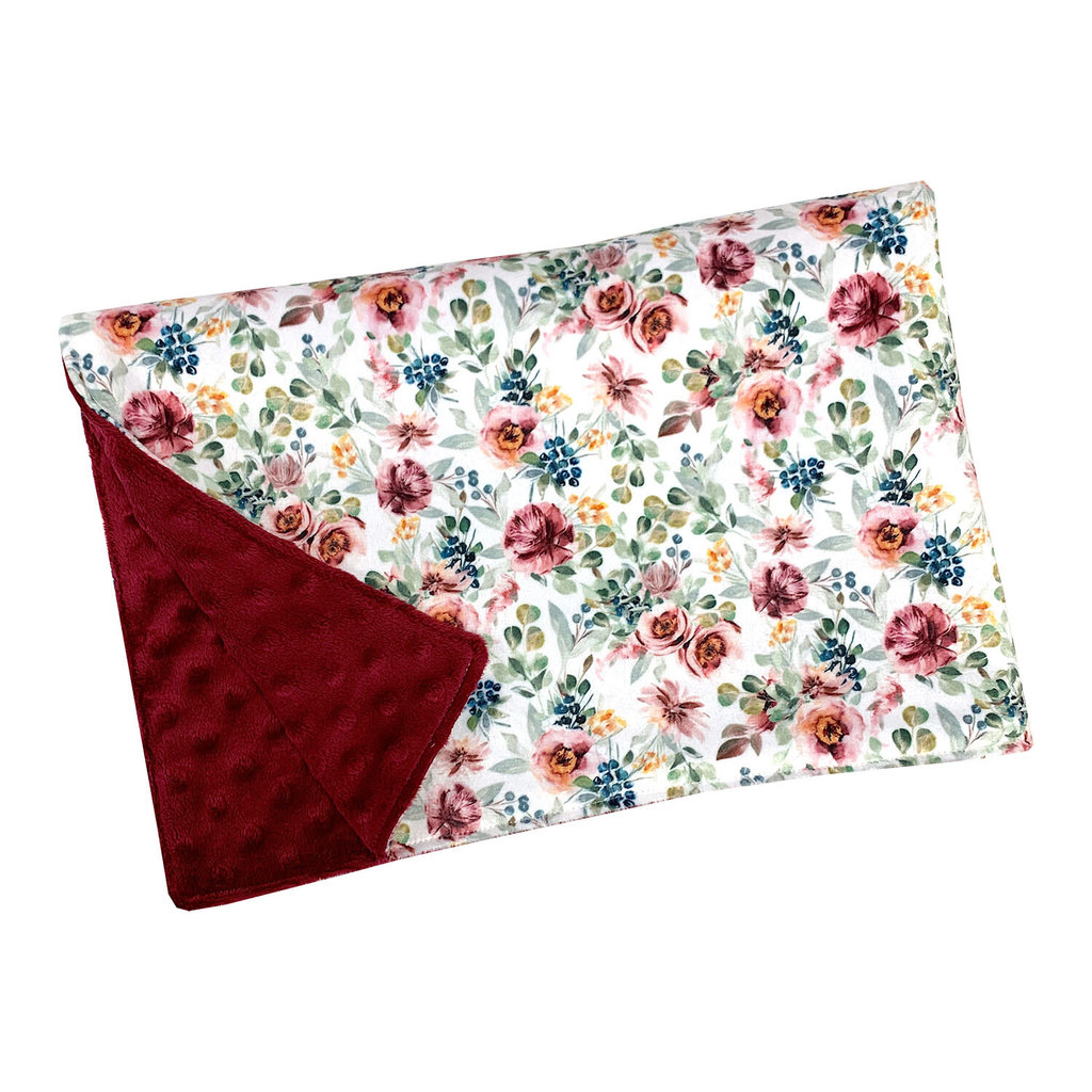 OOPS Couverture de minky - Floral