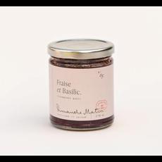 Dimanche Matin Tartinade - Fraise & Basilic