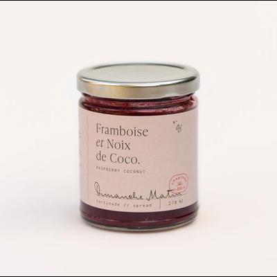 Dimanche Matin Tartinade - Framboise & Noix de coco