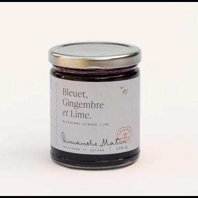 Dimanche Matin Tartinade - Bleuet, Gingembre & Lime