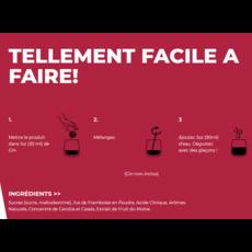 Poseidn Mélange pour cocktails - Framboise et Thé vert