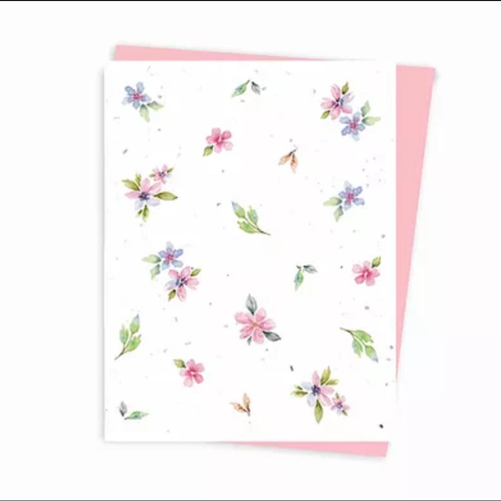Hobeika Art Carte ensemencée - Fleurs du printemps