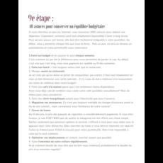 Le Parfait Agenda L'Agenda Budgétaire - L'organisateur