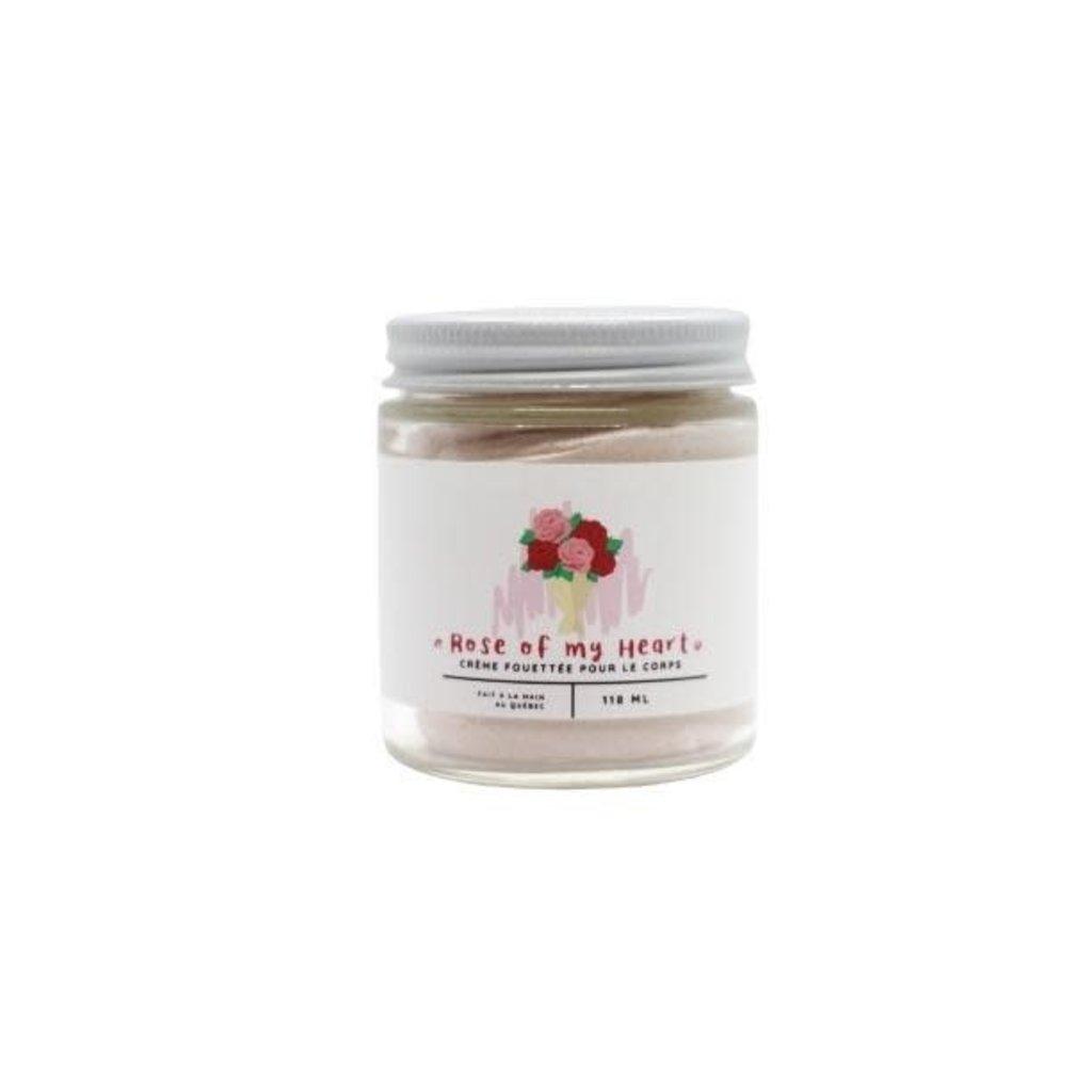 La Shop à Savons Crème Fouettée - « Rose of my Heart »