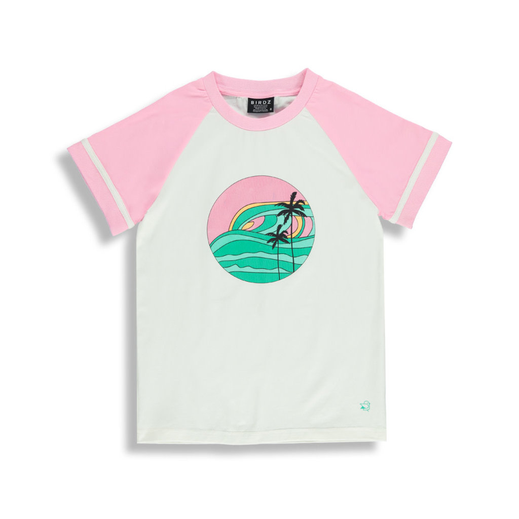 Birdz T-shirt pour femme retro - Sunset
