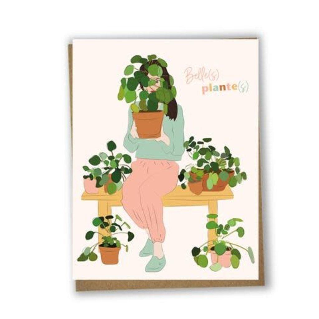 Lili Graffiti Carte - Belle(s) plante(s)
